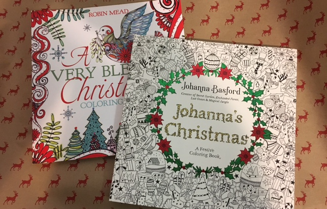 Johanna Basford Christmas Coloring Book.Christmas Coloring Duck S Cottage